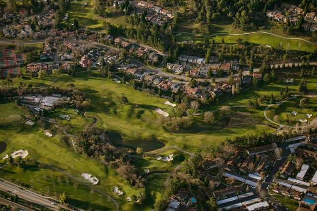 Aerial view from Moraga Country Club (Karl Nielsen Photography)