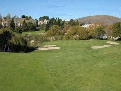 A view from a fairway at Canyon Lakes Golf Course