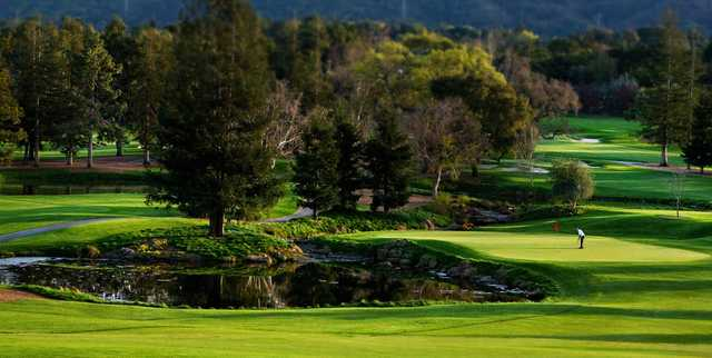 A sunny day view from Los Altos Golf & Country Club
