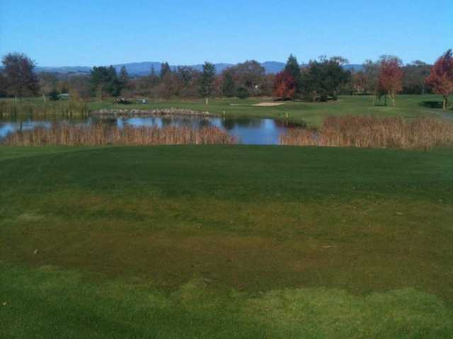A view from the 13th tee at Windsor Golf Club