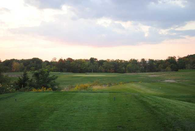 A view from a tee at Golf Depot