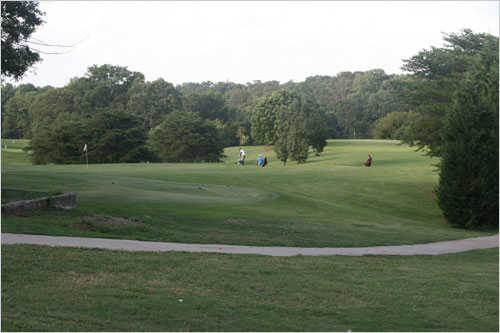 A view from Candler Park Golf Course (Candler Park)