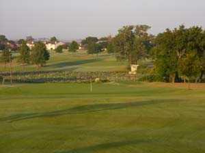 A view from a fairway at Waxahachie Golf Club