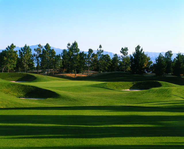 Desert Pines Golf Club: View from #16