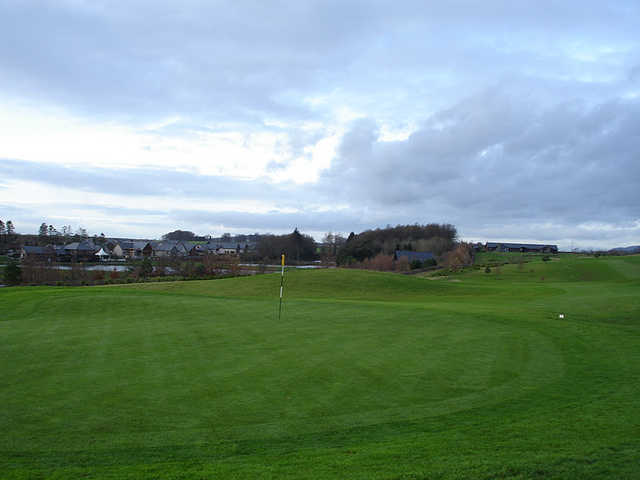 A view of a green at Kingennie Golf Course (Alan McPherson)