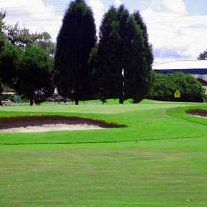 A view of a green at Angler's Green (GolfDigest)