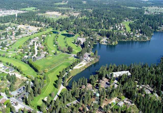 Aerial view from Avondale Golf & Tennis Club