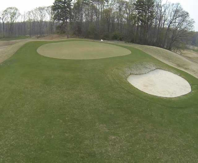 A view of a hole at Dr. Charles L. Sifford Golf Course from Revolution Park