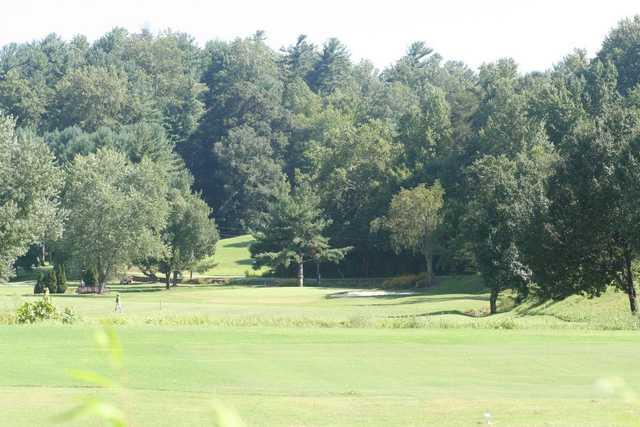 A view from Lenoir Golf Club