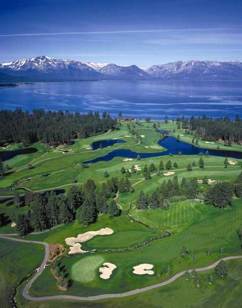View from Edgewood Tahoe Golf Course