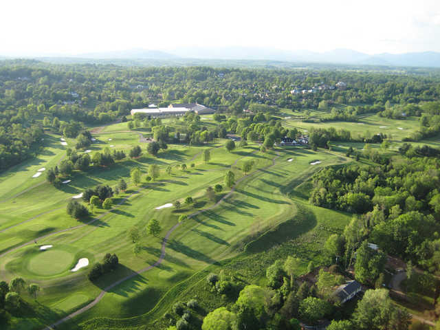 Aerial view from Birdwood Golf Course