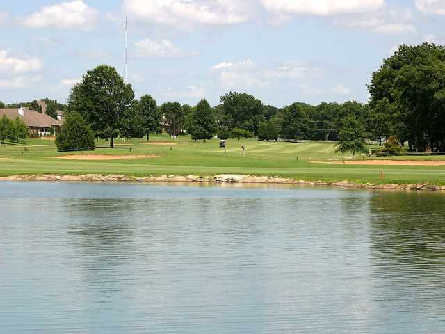 A view over the water from Heritage Hills Golf Course