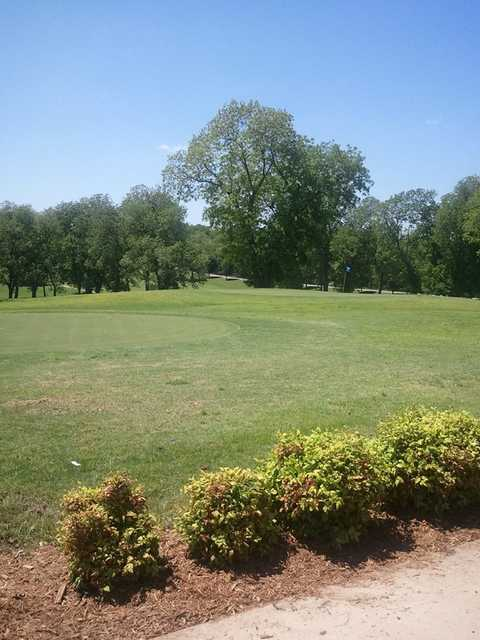 A view from Sequoyah State Park Golf Course