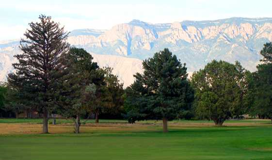 A view from Paradise Hills Golf Course.