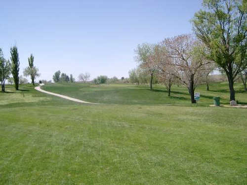A view from tee #8 at Championship Course from Ladera Golf Course (City of Albuquerque)