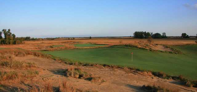View of the 12th hole at Awarii Dunes Golf Club