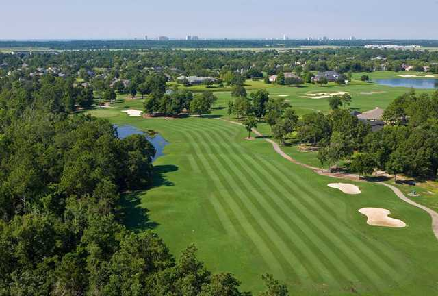 A view of a fairway at Craft Farms Resort
