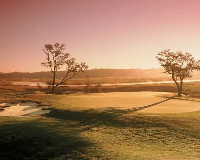A sunny day view from  Rivers Edge Golf Club