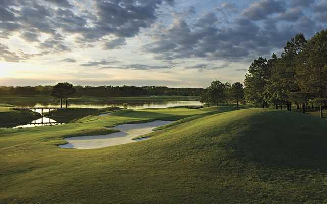A view from fairway #4 at Judge Course from Capitol Hill Golf Club (Michael Clemmer).