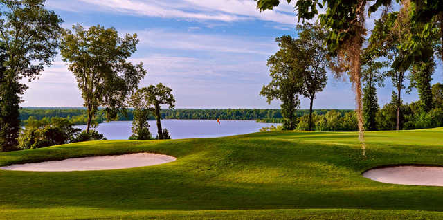 A view of the 3rd hole at Legislator Course from Capitol Hill Golf Club.