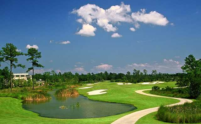 A view of the 9th fairway at RiverTowne Country Club
