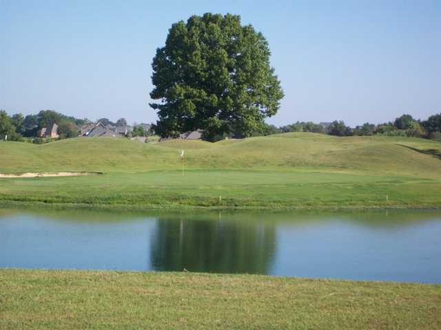 A view over the water from Farms Golf Club