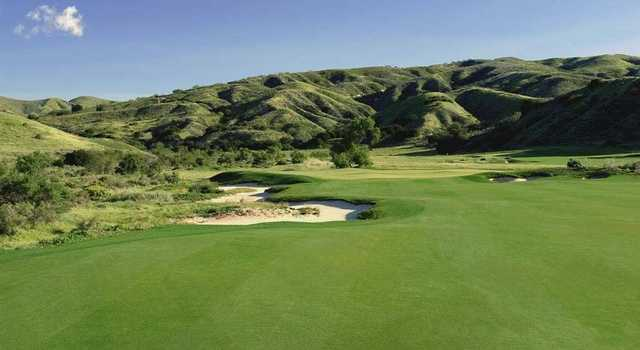 Rustic Canyon: View from #3 (Rob Brown/Rustic Canyon G.C.)