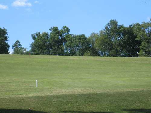 A view of the 7th fairway at Deertrak Golf Club