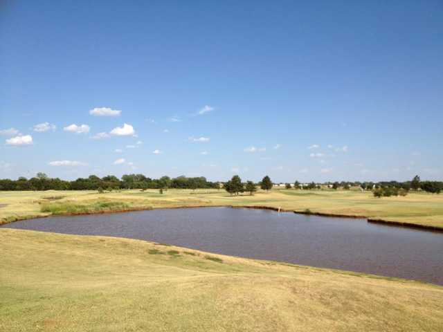 A view from Kingfisher Golf Course