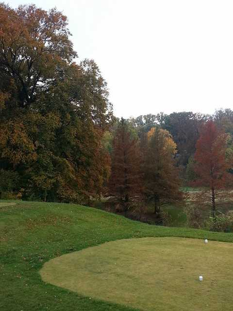 A fall view from Country Club of Old Vincennes