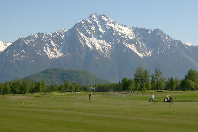 A view from Palmer Golf Course