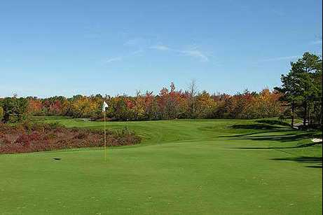 A view of a hole at Green Briar Golf Course
