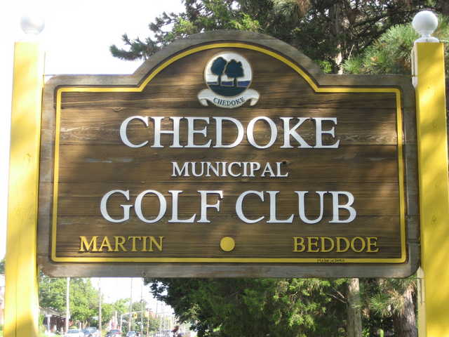 Chedoke GC sign