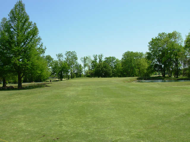 A view from a fairway at Cottonwood Golf Club