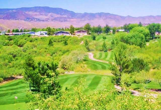 A view from Coyote Trails Golf Course