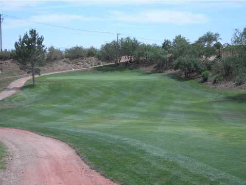 A view of the 7th fairway at Coyote Trails Golf Course