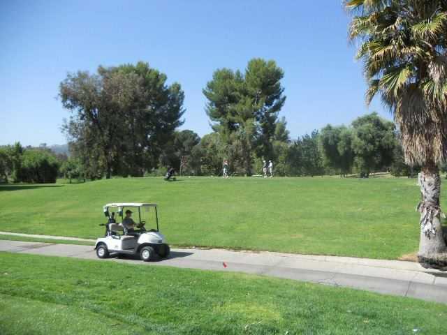 A view from Vista Valencia Golf Course