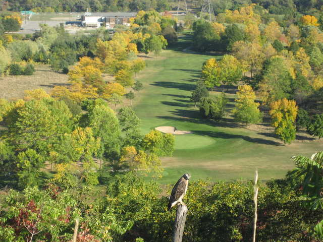 View of King's Forest Golf Course from Upper King's Forest Park