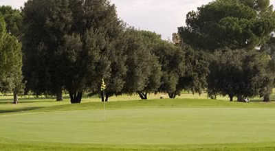 A view of a green at Encino from Sepulveda Golf Complex.