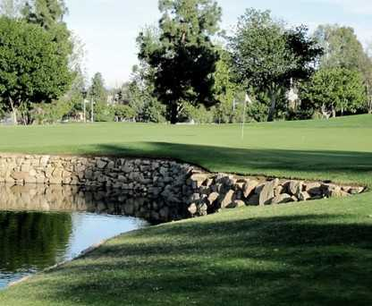 A view of a hole at Montebello Golf Course