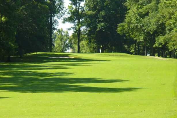 A view from a fairway at Shelby Country Club