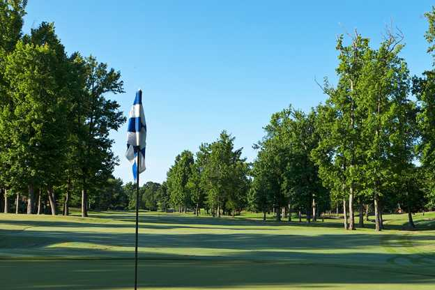 A view from a green at Quail Ridge Golf Course (Allen Mims)