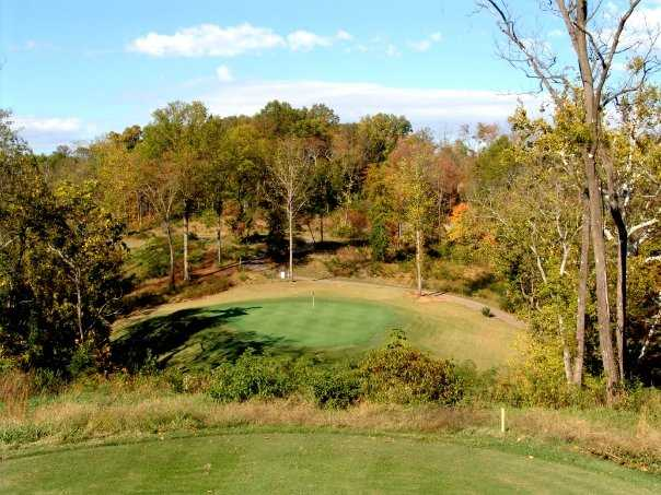 A view from tee #10 at Williams Creek Golf Course