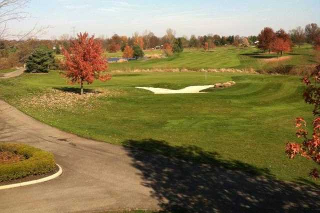 A fall view from Royal American Links Golf Club