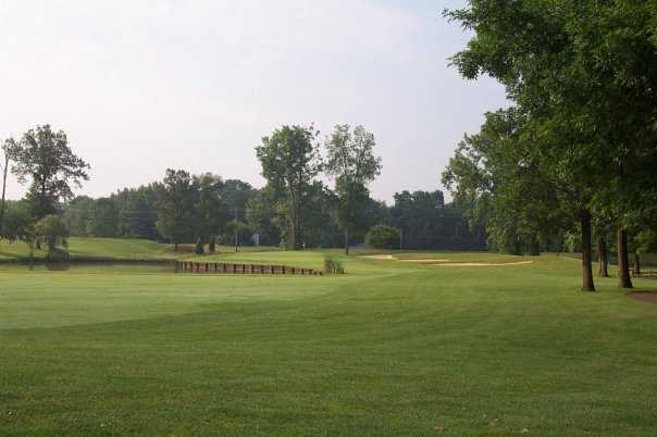 A view from a fairway at Bent Tree Golf Club