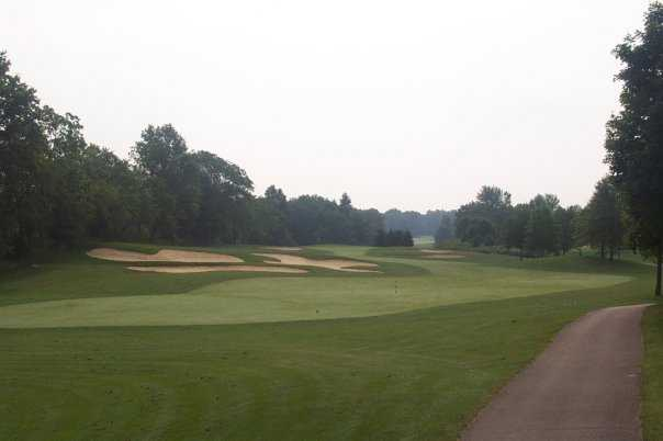 A view from Bent Tree Golf Club