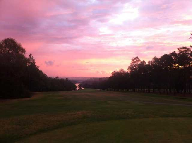 A view of the 10th fairway at Azalea City Golf Course