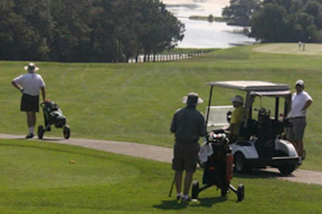 A view from Azalea City Golf Course