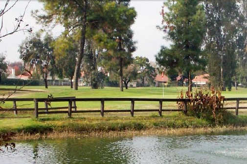 A view over the water from Rancho Del Rey Golf Club