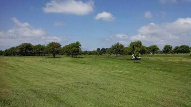 A view of a fairway at Moss Ridge Golf Club